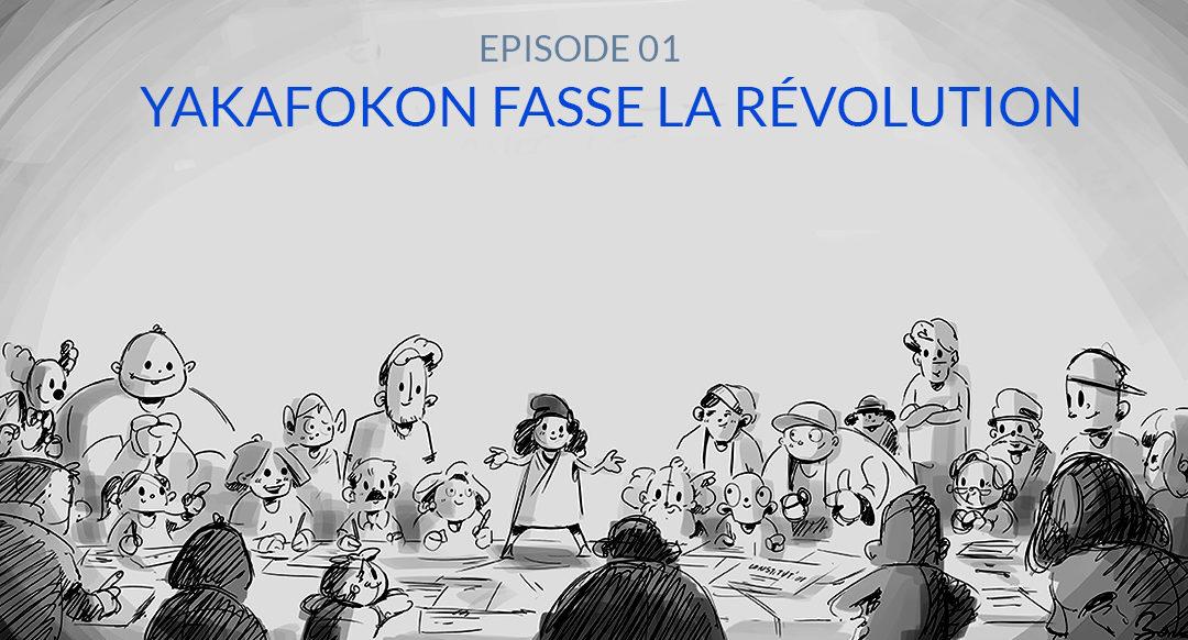 Voir la BD Yakafokon fasse la révolution – YakafokonRIC #1