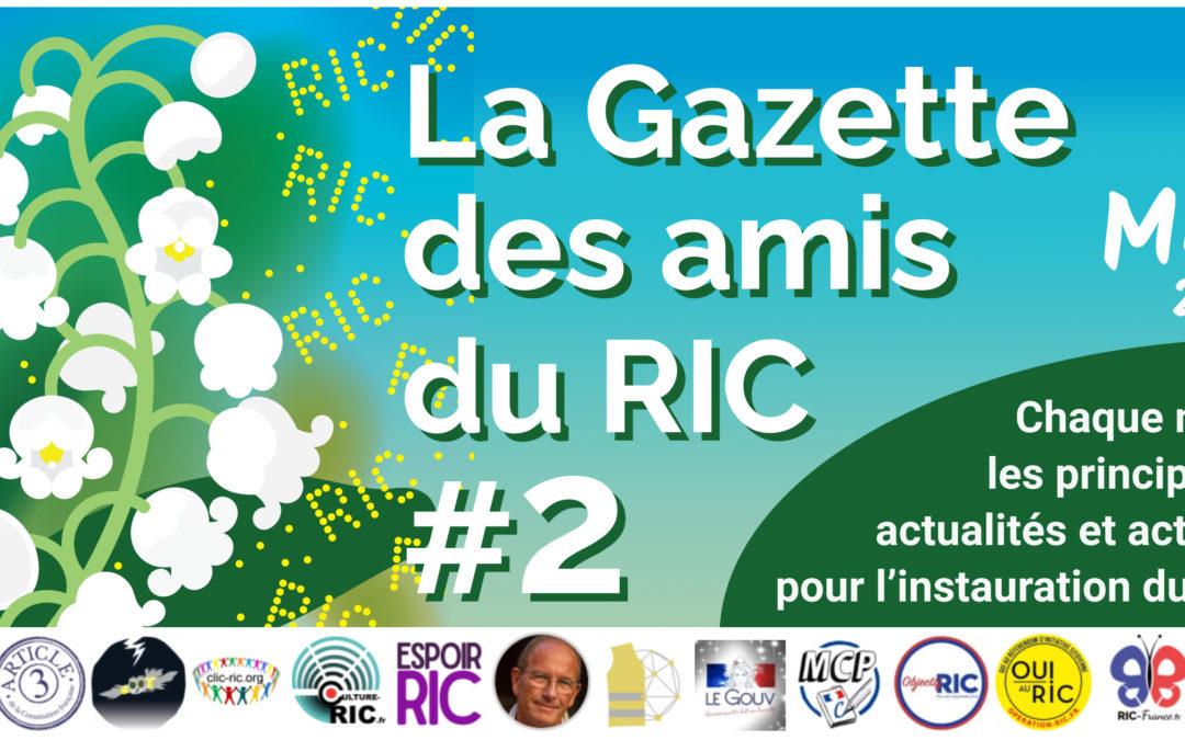 La Gazette des amis du RIC – Numéro 2